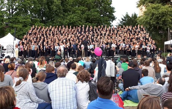 Gospel im Osten - Mighty Wind Open Air Konzert